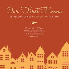 Housewarming Invitations Templates Custom Housewarming Party Invitation Templates By Canva