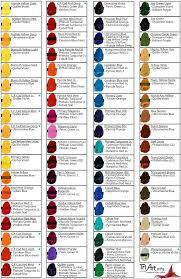 Acrylic Color Mixing Chart Pdf Www Bedowntowndaytona Com