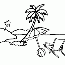Small Picture Chair Coloring Pages