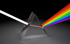 Image result for prism with light
