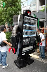 Robot Vending Machine Interesting 48 Coolest CocaCola Vending Machines Oddee
