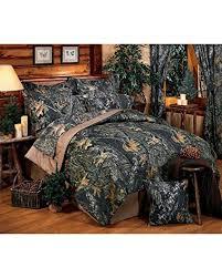 Amazon.com: New Break-Up Mossy Oak Camouflage Comforter Set, Queen ...
