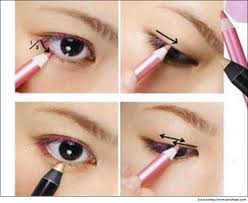 how to put eyeliner with eye lid you mugeek vidalondon professional