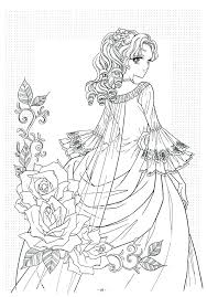 Anime Coloring Pages For Adults Colouring Pages Adult Coloring Pages