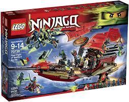 LEGO Ninjago 70738 Final Flight of Destiny's Bounty Building Kit by LEGO:  Amazon.de: Spielzeug