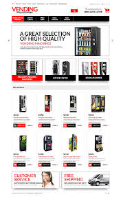 Vending Machine Website Enchanting Website Templates Food And Drink Vending Machines Supplier Machine