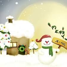 Merry Xmas iPad Wallpapers Free Download