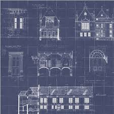 architecture blueprints wallpaper. Contemporary Wallpaper WP0090704 Brewster Wallcoverings  In Architecture Blueprints Wallpaper N