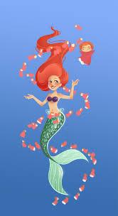Little Mermaid Ariel Iphone Bg ...