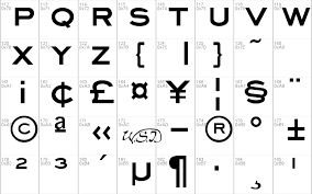 Eyechart Font Free For Personal