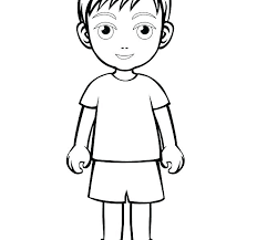 Boy Coloring Pages Pdf Child Coloring Page Child Coloring Page Older