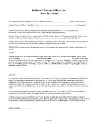 Commercial Lease 24 Commercial Lease Agreement Templates Excel Pdf Formats Free 9