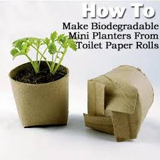 Biodegradable Paper With Flower Seeds 7 More Reused Items To Boost Your Garden G A R D E N I N G