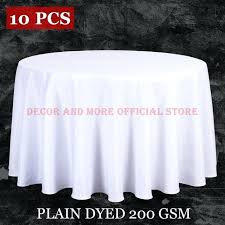 round white table linens lot whole polyester round tablecloth for wedding hotel decor white table cloth
