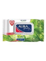 <b>Влажные салфетки Aura</b> 3172735 в интернет-магазине Wildberries