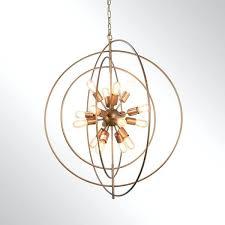 orb chandelier bronze nebula antique bronze light orb chandelier by home rae 4 light clear glass