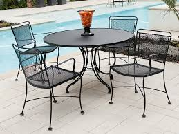 black wrought iron patio furniture. outdoor patio wrought iron furniture set sale black r