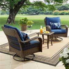 better homes and gardens colebrook 3 piece outdoor bistro set