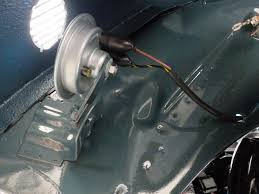 installed starter horn and fixed wiring vw beetle project starter motor mounted to transaxle wiring harness lookin