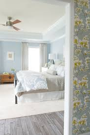 best colour combination for ur bedroom light blue white dark yellow bed lamp wall fl pattern