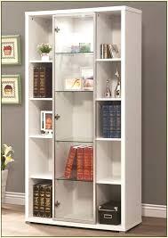 bookcase sliding glass doors alluring glass door bookshelves design ideas rectangle white wooden bookshelf featuring sliding s m l f source ameriwood home