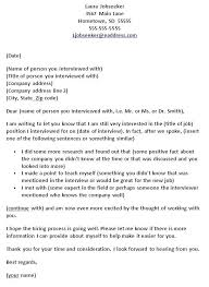 Ideas Of Thank You Letter After Job Interview Ideas Collection