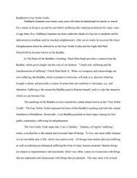 buddhism the noble truths essays zoom