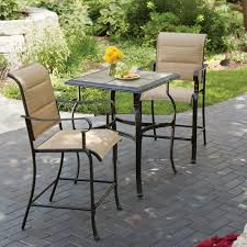 bar height bistro set outdoor patio bar sets counter height outdoor table and stools outdoor bar height bistro set