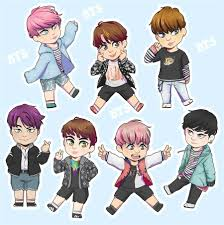 Anime Chibi Bts Hinh Chibi Cute - Anime Wallpapers