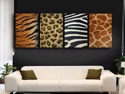 Zebra Print Living Room Stunning Animal Prints Wall Decor In Modern Living Room Design