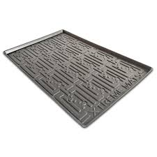 this review is from black kitchen depth under sink cabinet mat drip tray shelf liner 30 3 8 in x 21 1 2 in