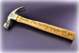 Personalised Hammer Gift For Grandad Christmas Gift IdeasGrandad Christmas Gifts