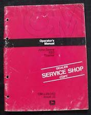 john deere 820 tractor operators manual genuine 1972 1973 john deere 820 tractor operators manual pages are nice