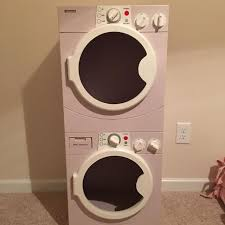 kenmore kids washer and dryer. super cute kenmore washer/dryer toy. light purple . kids washer and dryer t