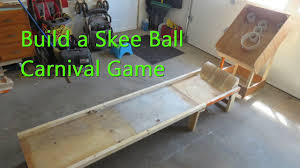 Homemade Wooden Games How to Build a Skee Ball Game YouTube 38