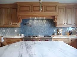 blue tile backsplash kitchen blue subway tile white kitchen with blue glass tile backsplash
