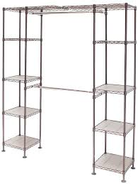 details about satin bronze expandable closet organizer system