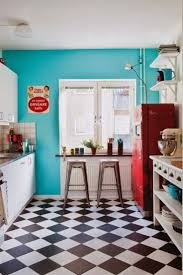 Checkered Kitchen Floor 17 Best Ideas About Retro Kitchens On Pinterest Vintage Kitchen