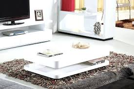 high gloss white coffee table high white gloss modern coffee table by mode designs designer style