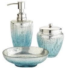 Bath Accessories  Standard And Luxury Bath Sets  Altmeyeru0027s Aqua Colored Bathroom Accessories