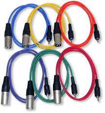 electrical and audio wiring home studio electrical gls audio xlr m to rca patch snake cables 3ft colors home studio on electrical and