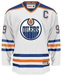Oilers White Oilers White Oilers White Jersey Jersey