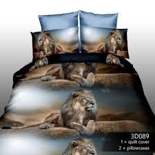 cute 3d animals printing quilt duvet