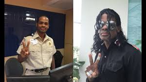 Hospital Security Guard Memorial Regional Hospital Security Guard Is Also A Michael Jackson