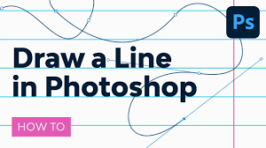The curvature pen tool lets you intuitively draw curves and straight the first segment of your path always appears as a straight line on the canvas initially. How To Draw A Line In Photoshop Youtube