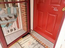 clean your front door
