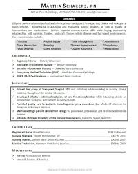 Resume Objective Examples Clinical Objectives For Nurse Example