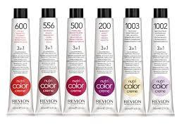 Revlon Professional Hair Colour Chart Revlon Professional Nutri Colour Creme The Beautiful Truth