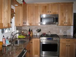 Lighting Alluring To Clean Light Maple Kitchen Cabinets Backsplash