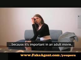 Fake casting surprise anal